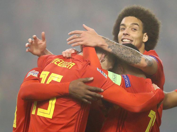 Belgien wahrt weiterhin die weiße Weste