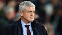 Der FC Southampton trennt sich von Mark Hughes