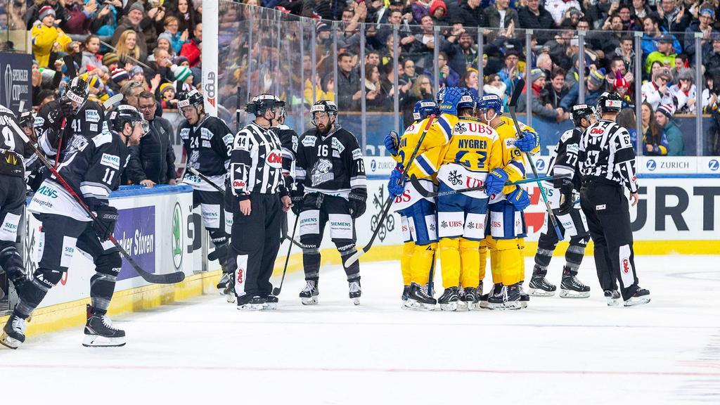 Nürnberg Ice Tigers verlieren beim Spengler Cup