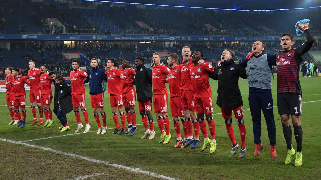Der Hamburger SV schwimmt auf einer Erfolgswelle