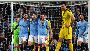 Manchester City ließ Burton Albion nicht den Hauch einer Chance
