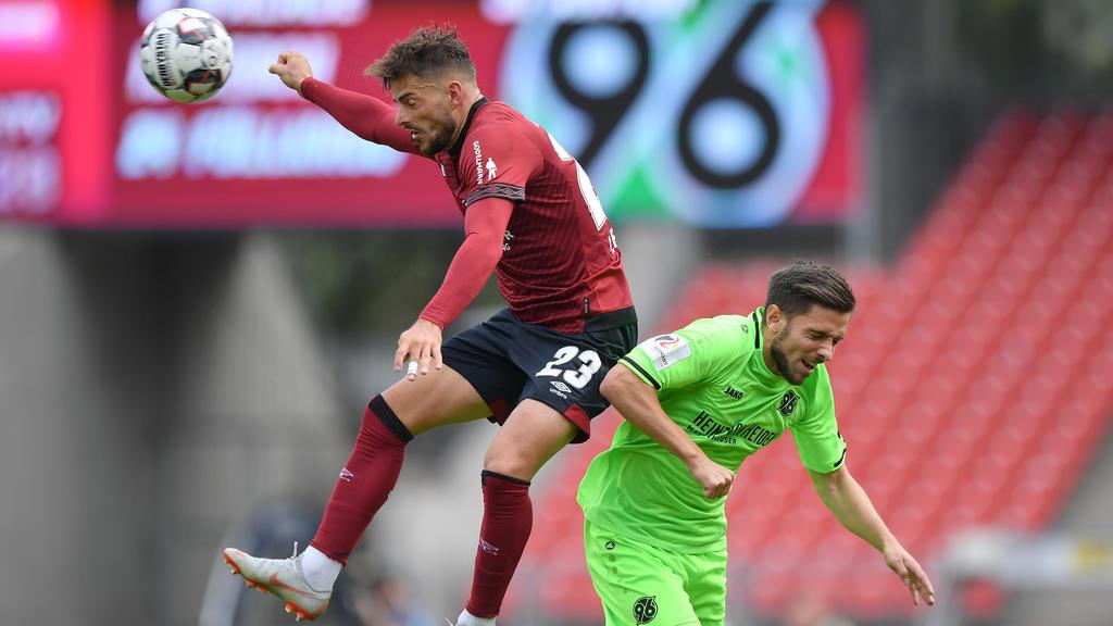 Hannover und Nürnberg kämpfen im direkten Duell um das sportliche Überleben
