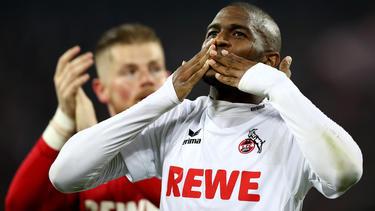 Anthony Modeste darf endlich wieder für den 1. FC Köln kicken