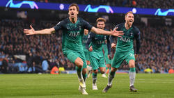 Tottenham steht im Halbfinale der Champions League