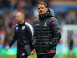 Frank de Boer ist nicht mehr Trainer von Crystal Palace