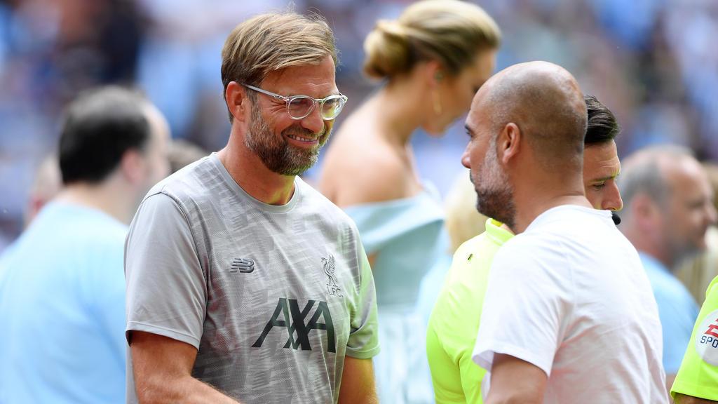Klopp und Guardiola kennen sich noch aus gemeinsamen Bundesliga-Zeiten