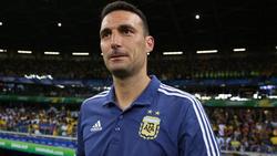 Immer unter Strom: Argentiniens Coach Lionel Scaloni