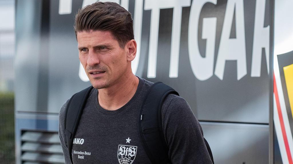 Mario Gomez akzeptiert seine ungewohnte Rolle beim VfB Stuttgart