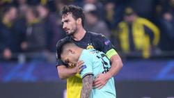 Der BVB und Inter Mailand lieferten jeweils eine starke Halbzeit