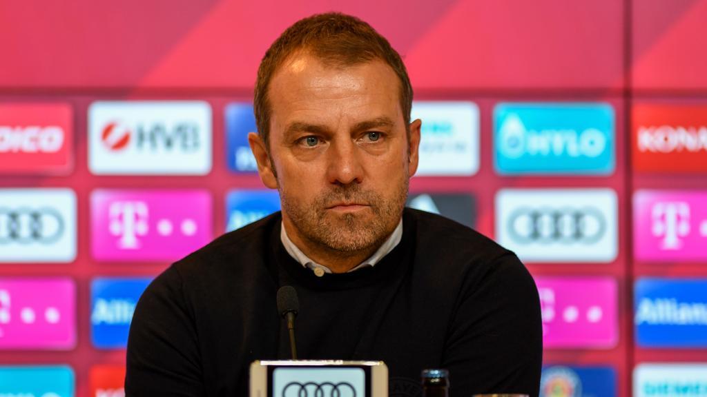 Hansi Flick hat sich vor dem Heimspiel des FC Bayern gegen Schalke 04 zu BVB-Juwel Erling Haaland geäußert