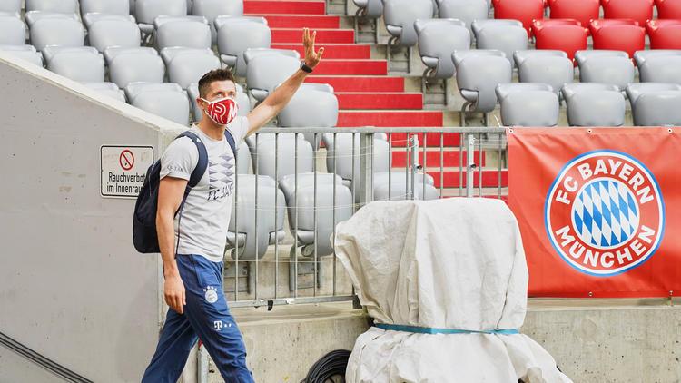 Robert Lewandowski ist Torjäger des FC Bayern