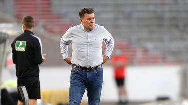 Dieter Hecking gab sich nach HSV-Niederlage kämpferisch