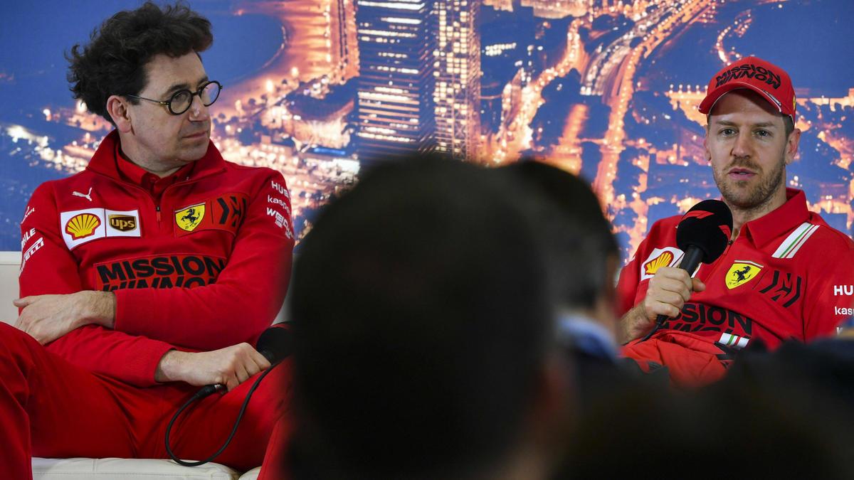 Mattia Binotto widerspricht Sebastian Vettel nicht