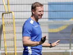 SKN-Trainer Robert Ibertsberger ist auch gegen Salzburg zuversichtlich