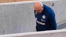 Christian Gross steht beim FC Schalke womöglich vor dem Aus
