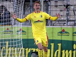 Philipp Lienhart durfte bereits zum vierten Mal in dieser Saison über ein Tor jubeln