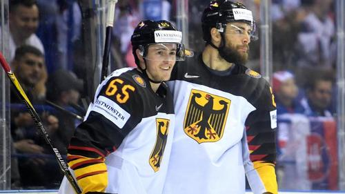 NHL-Legionär Marc Michaelis (l.) berichtet von seiner Corona-Infektion