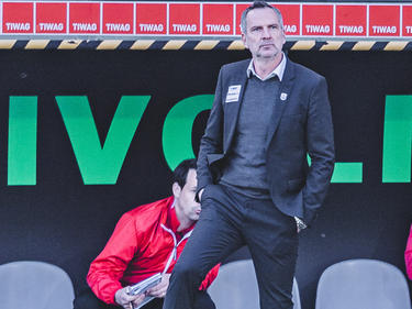 Schwer enttäuscht: LASK-Coach Dominik Thalhammer