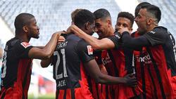 Eintracht Frankfurt hat sich für die Europa League qualifiziert