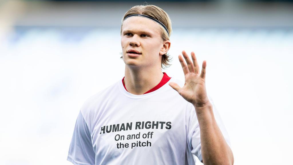 BVB-Star Erling Haaland würde mit Norwegen gerne an der Katar-WM teilnehmen