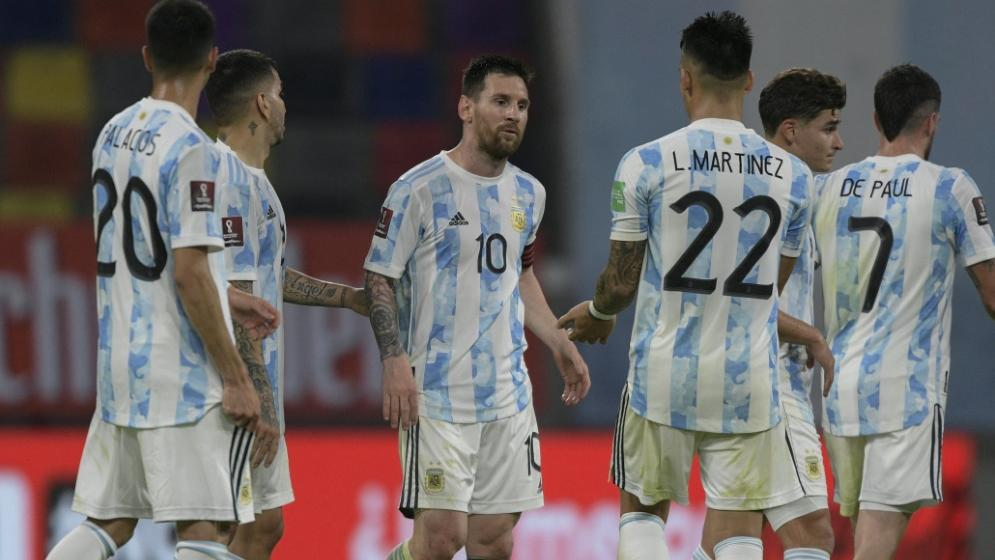 Copa América: Argentinien schlägt Camp zuhause auf