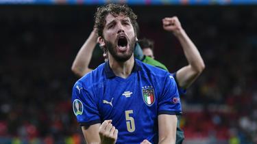 Manuel Locatelli kann mit Italien die EM gewinnen