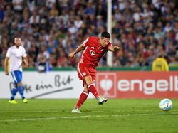 Im Pokal erzielte Lewandowski einen Hattrick