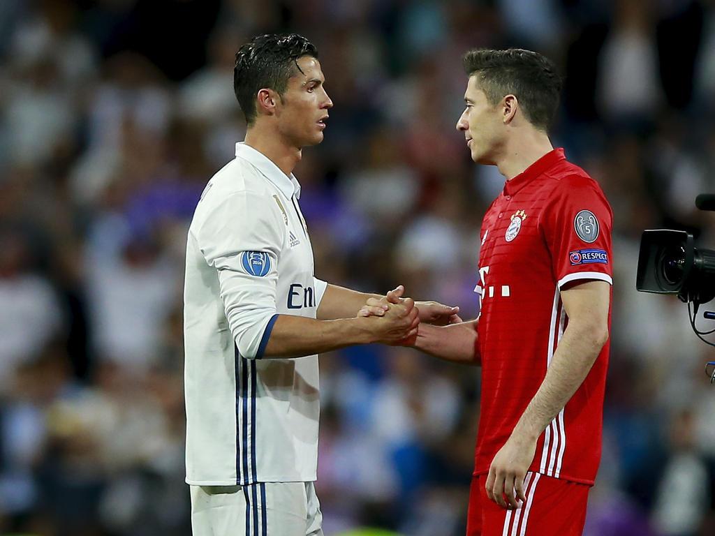 Cristiano Ronaldo sol sich gegen einen Transfer von Robert Lewandowski ausgesprochen haben