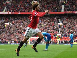 Marouane Fellaini spielt seit 2013 für Manchester United