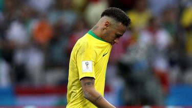 Neymar scheiterte mit Brasilien im Viertelfinale