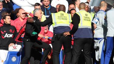 José Mourinho hatte seine Emotionen nicht im Griff