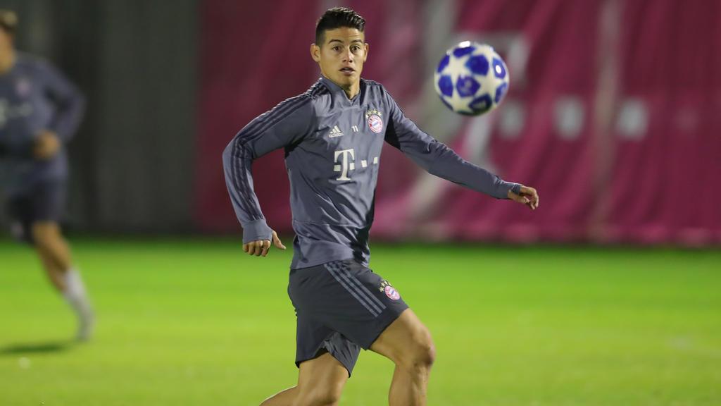 Zukunft von James Rodríguez beim FC Bayern ist weiter offen