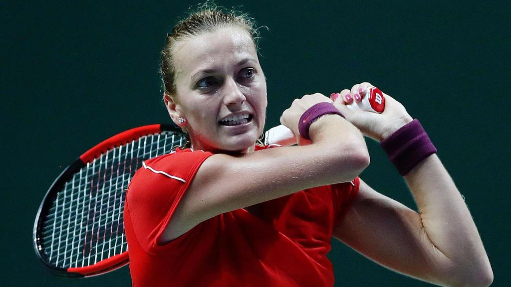 Die Teilnahme von Petra Kvitova am Fed-Cup-Finale ist noch nicht gesichert