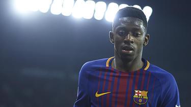 Ousmane Dembélé steht beim FC Barcelona in der Kritik