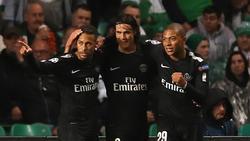 Neymar, Edinson Cavani und Kylian Mbappé (v.l.) sind die Gesichter von PSG