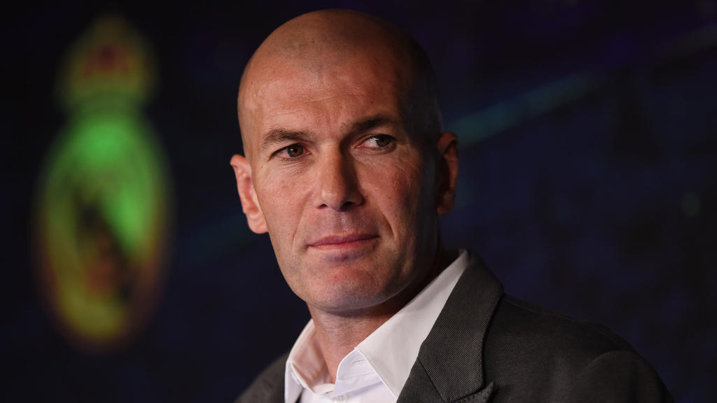 Zinedine Zidane ist zurück bei Real Madrid