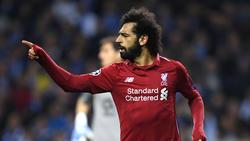 Mohamed Salah steht seit 2017 beim FC Liverpool unter Vertrag