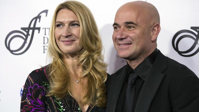 Steffi Graf ist seit 18 Jahren mit Andre Agassi verheiratet