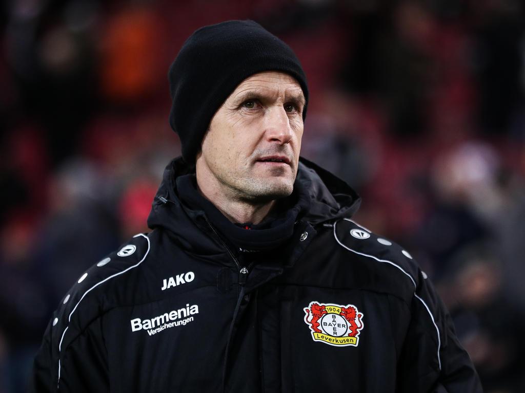 Heiko Herrlich will gegen Bayern die Punkte in Leverkusen behalten
