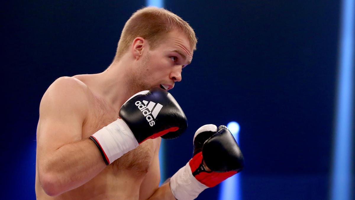 Stefan Härtel kämpft ein zweites Mal gegen Robin Krasniqi