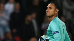 Keylor Navas fehlt PSG mindestens zwei Wochen
