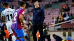 Ronald Koeman steht in Barcelona heftig in der Kritik