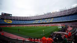El Camp Nou permanecerá vacío durante el choque.