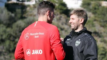 Beim VfB Stuttgart ruht der Trainingsbetrieb