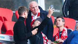 Uli Hoeneß würdigt die Allianz Arena als Meilenstein des FC Bayern