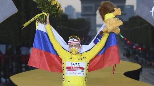 Tadej Pogacar gewann die Tour de France 2020