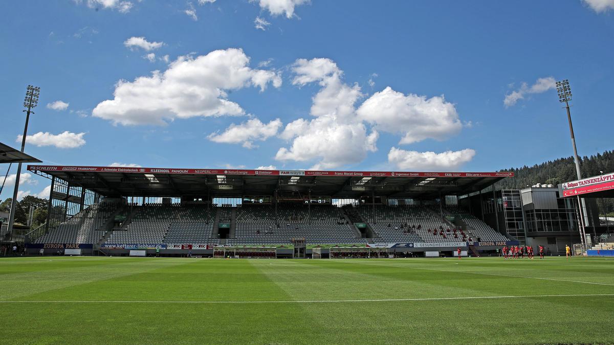 Der SC Freiburg öffnet am 1. Bundesliga-Spieltag seine Tore für 500 Fans