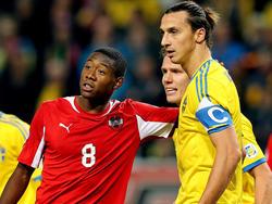 In dieser Auswahl dürfte David Alaba gemeinsam mit Zlatan Ibrahimović spielen.