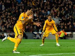 Luis Suarez traf gegen Atletico Madrid doppelt