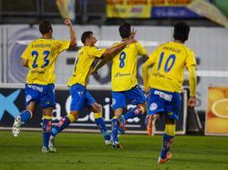 Las Palmas bejubelt einen Last-Minute-Sieg über Mallorca
